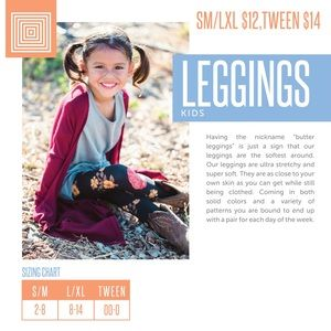 LuLaRoe Bottoms - Tween LuLaRoe Kids Leggings